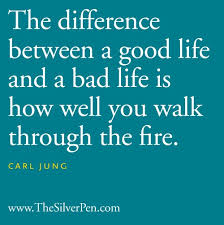 Jung walk through the fire