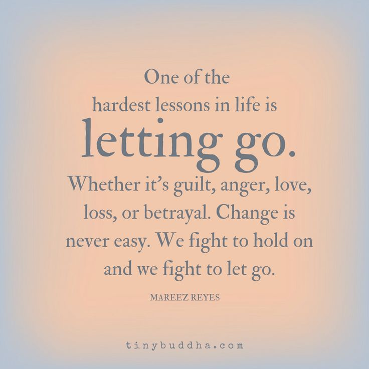 Letting Go 5