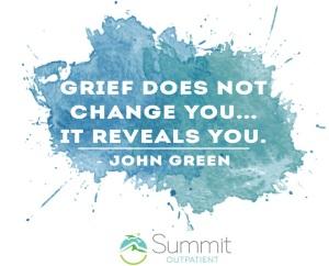 Grief reveals