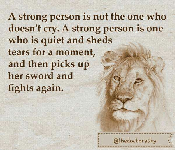 Cry lion
