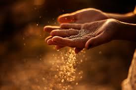 Hands of sand