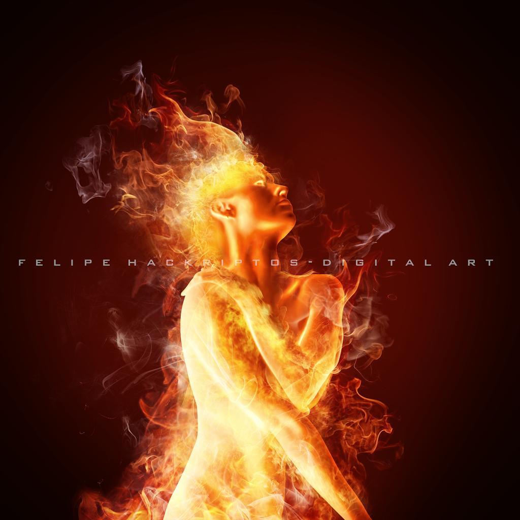 Fire woman 2
